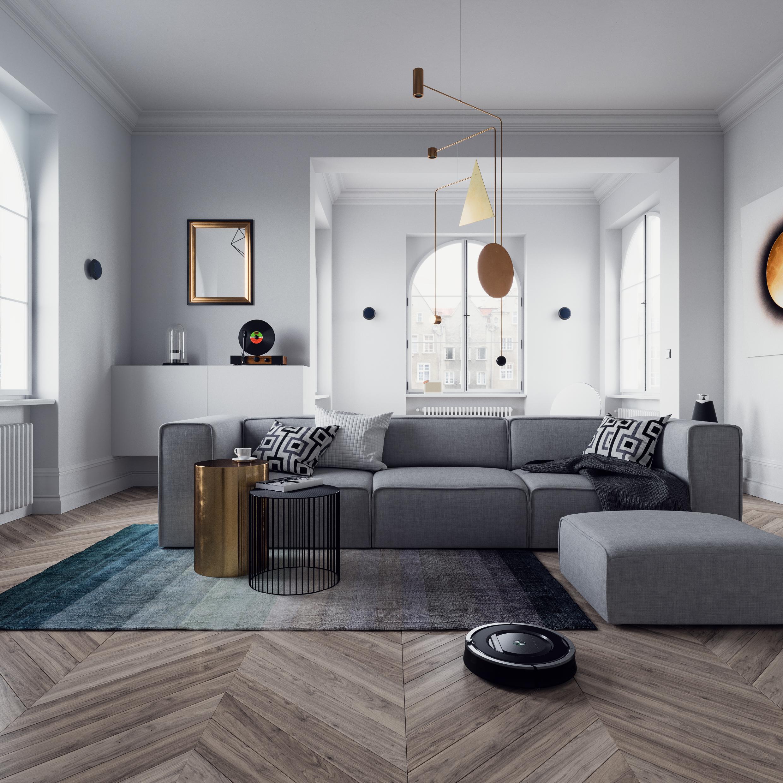 Vol 2 Home Equipment Interior Scene Triangle Form 3d