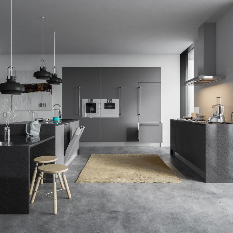 vol. 3 Kitchen Equipment Interior Scene
